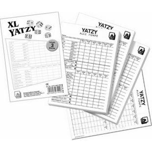 NSV Yatzy -eXtra cLassic- Spielblöcke 3er Pack - Bild 1