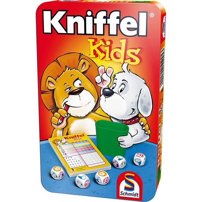 Schmidt Spiele Kniffel Kids Mitbringspiel in der Metalldose - Bild 1