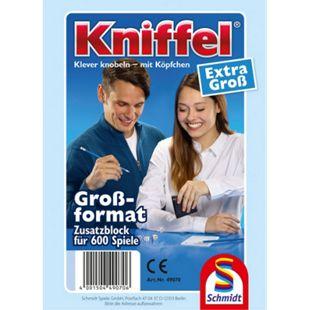 Schmidt Spiele Kniffelblock groß 100 Blatt - Bild 1