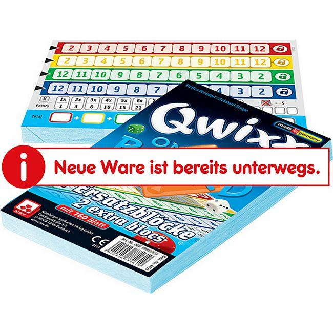 NSV Qwixx On Board Zusatzblöcke (2er) - Bild 1