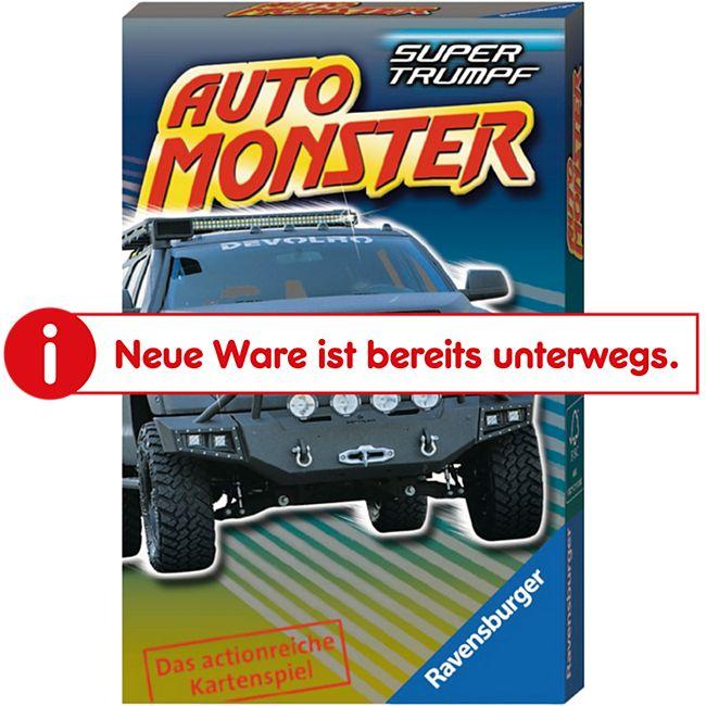 Ravensburger 20304 Quartett Auto Monster - Bild 1