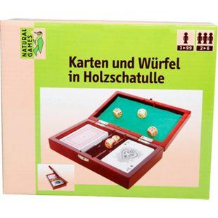 Natural Games Karten und Würfel in Holzschatulle - Bild 1