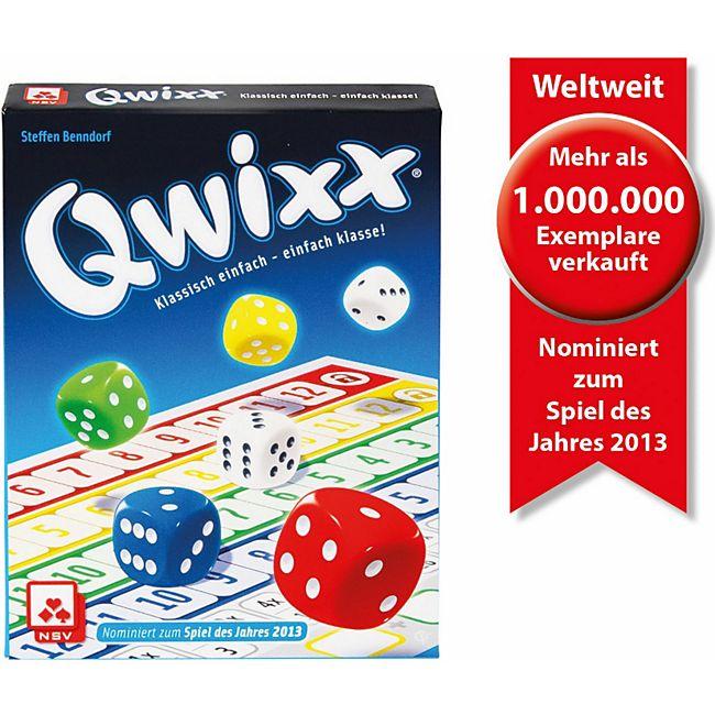 NSV Qwixx, nominiert zum Spiel des Jahres 2013 - Bild 1