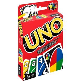 MATTEL GAMES Mattel W2087 UNO (Kartenspiel), 2-10 Spieler, ca. 30-60 min, ab 7 Jahre - Bild 1