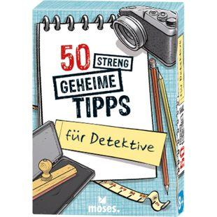 moses 50 streng geheime Tipps für Detektive - Bild 1