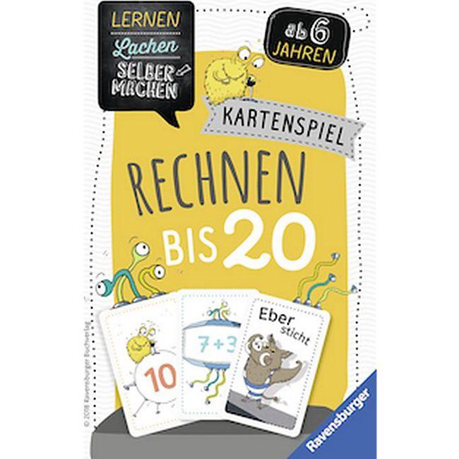 Ravensburger 41580 Kartenspiel Rechnen bis 20 - Bild 1