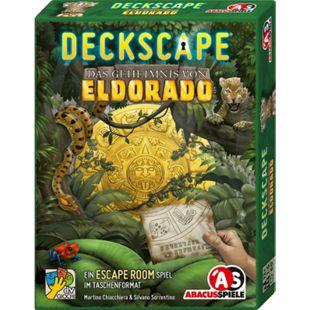ABACUSSPIELE Abacusspiele Deckscape - Das Geheimnis von Eldorado, Escape Room Spiel, Kartenspiel - Bild 1