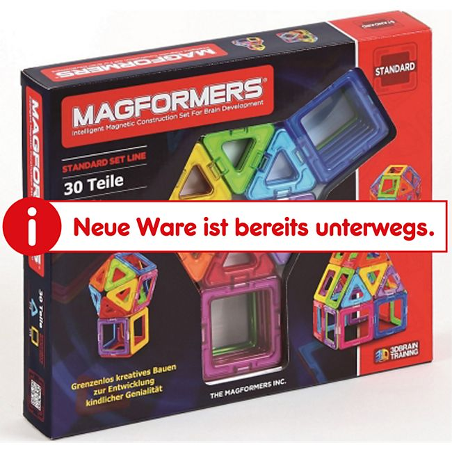 Magformers Standard Set 30-teilig Magnetspiel - Bild 1