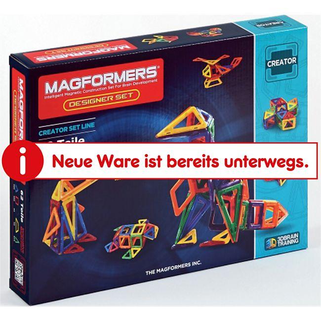 Magformers Creator Designer Set 62-teilig Magnetspiel - Bild 1