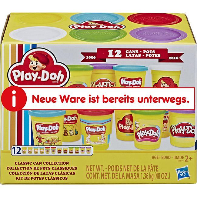 Play-Doh Hasbro E5891EU5  CLASSIC CAN COLLECTION - Bild 1