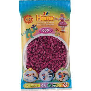 HAMA Beutel mit Perlen Pflaume 1000 Stück - Bild 1