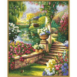 Malen nach Zahlen Simba Schipper  - Gartenparadies 40 x 50 cm - Bild 1