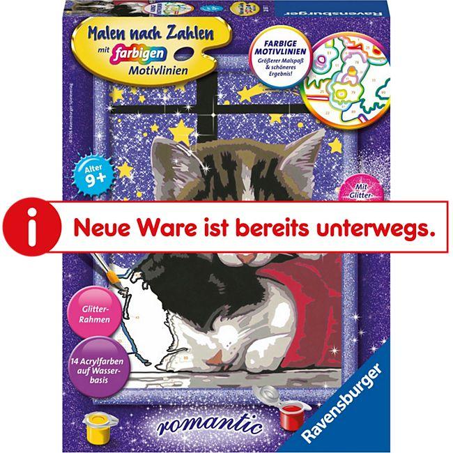 Malen nach Zahlen Ravensburger 28561 : Kuschelnde Kätzchen - Bild 1