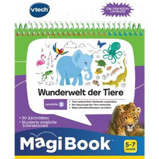 VTech 80-481004 Lernstufe 3 - Wunderwelt der Tiere - Bild 1
