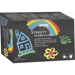 KREUL Streety Straßenmalfarbe 6er Set 200 ml - Bild 1