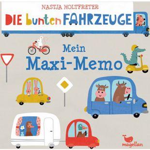 Magellan Die bunten Fahrzeuge # Mein Maxi Memo - Bild 1