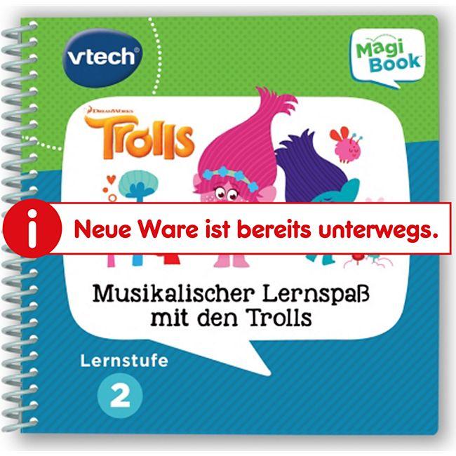 VTech 80-480304 Lernstufe 2 - Musikal. Lernspaß Trolls - Bild 1