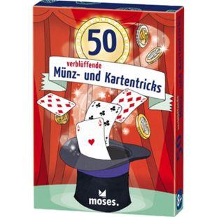 moses 50 verblüffende Münz- und Kartentricks - Bild 1