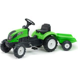 FALK Tret-Traktor mit Hänger grün 2 - 5 Jahre - Bild 1