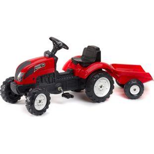 FALK Tret-Traktor mit Hänger rot 2 - 5 Jahre - Bild 1