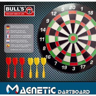 Bull's Magnetic Dartboard mit 6 Pfeilen - Bild 1