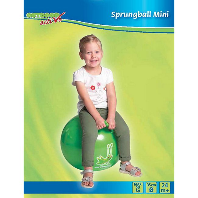 Outdoor active Outdoor active Sprungball Mini, # 35 cm - Bild 1