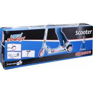 New Sports Scooter Pink/Weiß, 125 mm, ABEC7 - Bild 1