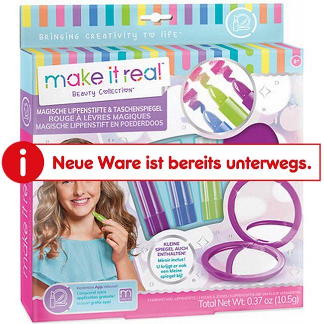 make it real Magische Lippenstifte & Taschenspiegel - Bild 1