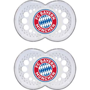 FCB MAM FC Bayern Babyschnuller 6 - 16 Monate, Silikon - Bild 1