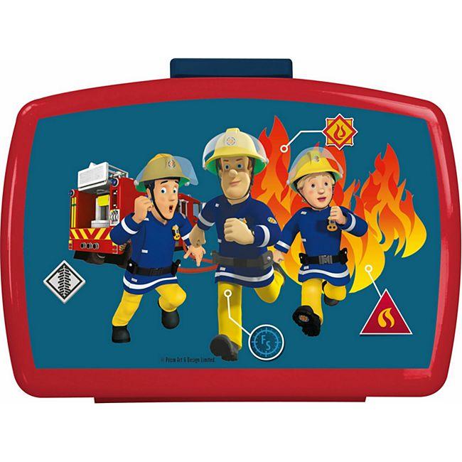 P:OS Feuerwehrmann Sam Brotdose mit Einsatz - Bild 1