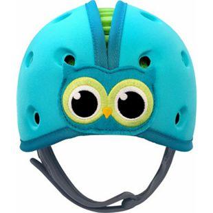 reer SafeHeadBaby Babyhelm Eule, blau-grün - Bild 1