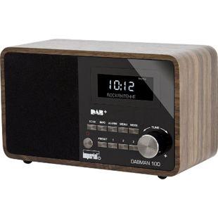 IMPERIAL DABMAN 100 DAB+ und UKW Radio... holzoptik - Bild 1