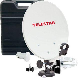 TELESTAR Camping Sat-Anlage im Koffer inkl. LNB, Kompass, und 10m Kabel ohne Receiver - Bild 1