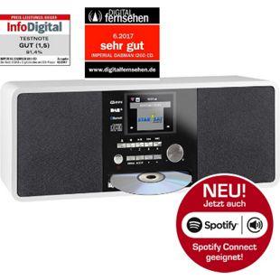 IMPERIAL DABMAN i200 CD Internet & DAB+ Stereo Radio, Spotify Connect... weiß - Bild 1