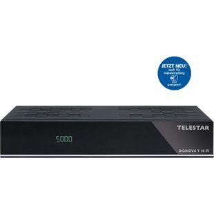 TELESTAR Diginova T10 IR DVB-T2 HD und DVB-C Receiver (Freenet TV, HEVC, HDMI, Scart, USB, LAN) - Bild 1