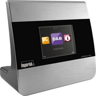 IMPERIAL DABMAN i400 Hifi Adapter Bluetooth/Wifi... Silber - Bild 1