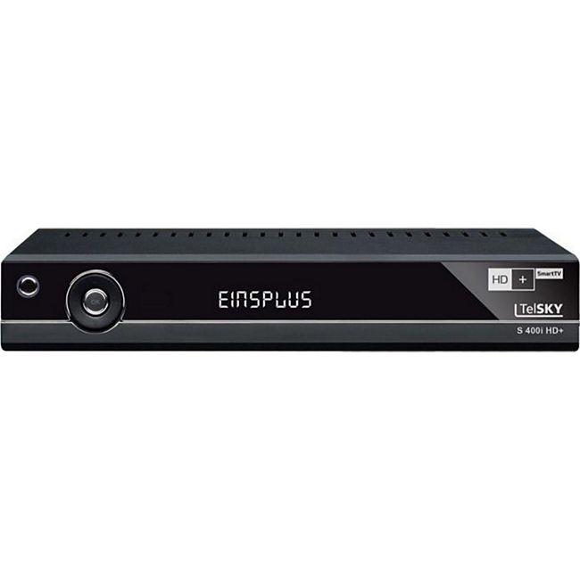 TelSKY S 400i HD+, schwarz (HD+ und SmartTV-Satellitenreceiver) - Bild 1