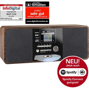 IMPERIAL DABMAN i200 CD Internet & DAB+ Stereo Radio, Spotify Connect... holzoptik - Bild 1