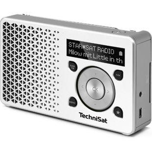 TechniSat DIGITRADIO 1 DAB+ Radio weiß/silber - Bild 1
