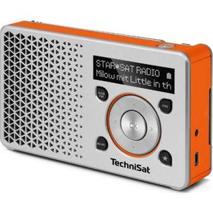 TechniSat DIGITRADIO 1 DAB+ Radio silber/orange - Bild 1