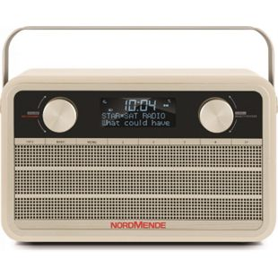 78-3001-01 Transita 120 DAB+ Digitalradio im Retrolook beige - Bild 1