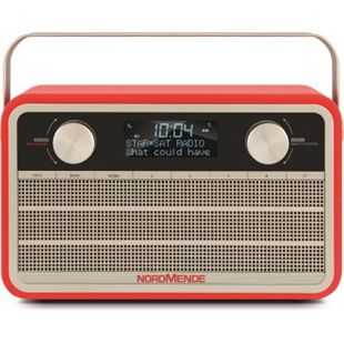 78-3001-00 Transita 120 DAB+ Digitalradio im Retrolook rot - Bild 1