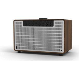 REVO SUPERTONE Bluetooth 4.2 Lautsprecher Soundsystem... walnuss - silber - Bild 1