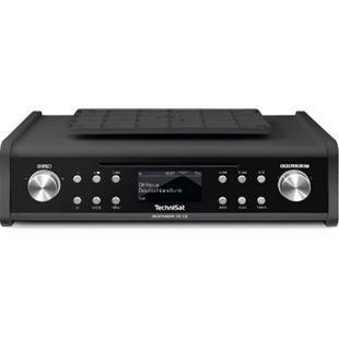 0000/4999 TechniSat TechniSat DIGITRADIO 20 CD DAB+ UKW Unterbau- Küchenradio Laufwerk OLED MP3 AUX anthrazit - Bild 1