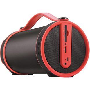 22-9061-00 IMPERIAL BEATSMAN Mobiler 2.1 Bluetooth Lautsprecher mit UKW Radio rot - Bild 1