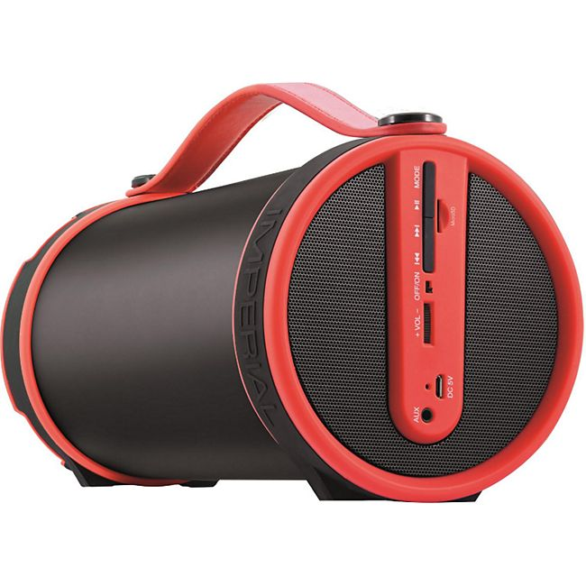 IMPERIAL BEATSMAN Mobiler 2.1 Bluetooth Lautsprecher mit UKW Radio... rot - Bild 1