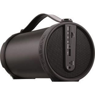 IMPERIAL BEATSMAN Mobiler 2.1 Bluetooth Lautsprecher mit UKW Radio... schwarz - Bild 1