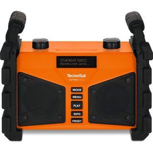 TechniSat DIGITRADIO 230 OD mobiles DAB+/UKW-Baustellenradio mit Akku und Bluetooth-Audiostreaming - Bild 1