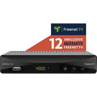 IMPERIAL T2 IR DVB-T2 HD und DVB-C Receiver mit 12 Monate freenet TV inklusive - Bild 1