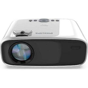 "Philips NeoPix Easy Mini Projektor / Beamer (HDMI, USB, VGA, MicroSD, Smarter Zugriff, Stereo Lautsprecher, Media Player, bis zu 80"" - 200 cm) - Bild 1"